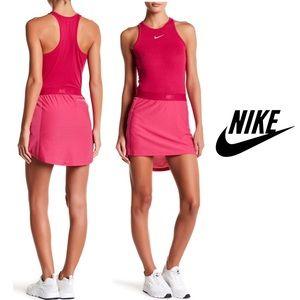 Nike Golf Pink Zonal Cooling Swing Skirt Skort Set
